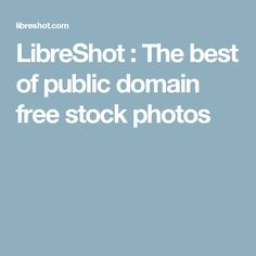 LibreShot : The best of public domain free stock photos
