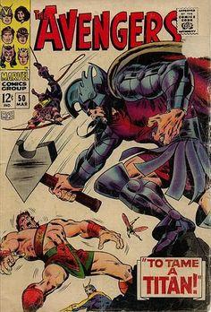 Avengers Vol 1 50 - Marvel Comics