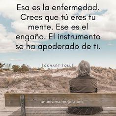 Pensamientos y reflexiones de Eckhart Tolle en español