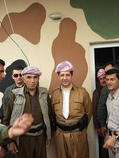"Pshmerga kurdistan  peshmerga will be known around the world and they watch how peshmerga will Stop IS! سةروك بارزانى : ""لهسهر دهستی پێشمهرگه كوردستان دهگاته ئایندهیهكی گهش"