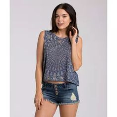 BILLABONG TOPS TIME WASTED MUSCLE TEE