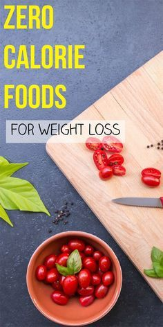 Zero calorie foods or negative calories foods are foods that are low in calories, so your body burns more energy on chewing and digesting and in the end, you burn more calories than the foods have in the first place.