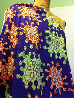 African Wax Print Fabric by the HALF YARD.  by MoreLoveMama, $4.50