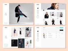 Minimal Web Interface by Isaac Appiah #Design Popular #Dribbble #shots
