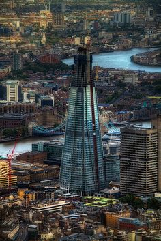 The Shard  - It's nearly the Shard! - London, UK