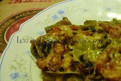 Les délices de Baradozic: Artichauts gratinés aux champignons