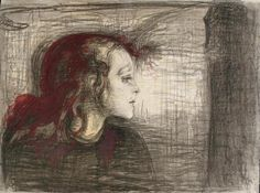 """""""I will paint living people who breathe and feel and suffer and love."""" - Edvard Munch"""