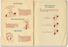 """How to Make Friends by Telephone"" c.1940s - Retronaut"