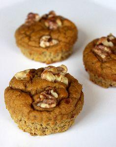 Paleo Pumpkin Muffins / #glutenfree #dairyfree #paleo