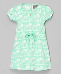 Green Cloud Organic Dress