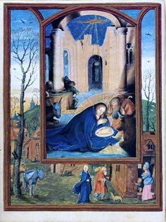 77 – Livro de Horas de Dom Manuel I: A Natividade