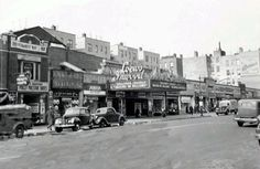 Loew's Inwood Theatre - 132 Dyckman Street at Post Avenue  New York, N.Y. 10040   Loew's Inwood Theatre, located on Dyckman Street opposite Post Avenue in the Inwood area of Upper Manhattan, opened in the early 1920s. The theatre had 1,874 seats.