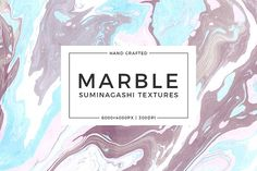 Marble Paper Textures by QueenHandcrafts on @creativemarket