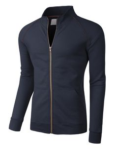 This lightweight sports zip up jacket is perfect for casual or activewear. Whether you are running errands or hitting the gym, this jacket will provide warmth while still keeping you comfortable. Goes