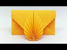 Envelope making with paper without Scissors Glue and Tape - DIY Origami Envelope easy tutorial Envelope making with paper without Scissors Glue and Tape – DIY Origami Envelope easy tutori Diy Origami Box, Origami Ball, Origami Envelope Easy, Origami Simple, Origami Paper Folding, Paper Crafts Origami, Useful Origami, Easy Paper Crafts, Origami Tutorial
