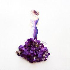 «Я верю, что искусство можно найти не только в дорогих галереях», — говорила о своем проекте Лим Цзи Вэй, художница из Сингапура, известная под псевдонимом Limzy. Она создала прекрасную серию акварельных рисунков, украшенных цветочными лепестками.   Источник: http://www.adme.ru/tvorchestvo-hudozhniki/risunki-iz-akvareli-i-cvetov-775910/#image9217460 © AdMe.ru