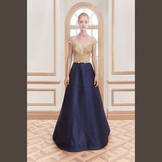 Evening dress navy 11