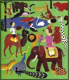 DIE WUNDERFAHRT (1929)  Sándor Bortnyik endpaper by arthurvankruining, via Flickr