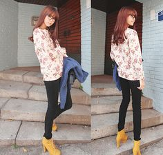 ulzzang i love this hole outfit : )