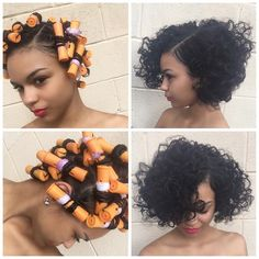 """3,548 Likes, 181 Comments - Christol (@salonchristol) on Instagram: """"The process and after: Twist and Rod style for natural hair by Akeva! #naturalhair #thecutlife…"""""""