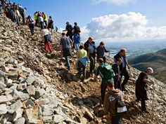 Croagh Patrick, County Mayo, is named one of the world's best hikes from National Geographic!