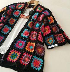 Ganchillo Crochet Coat, Crochet Jacket, Crochet Cardigan, Crochet Clothes, Cardigan Pattern, Baby Knitting Patterns, Crochet Patterns, Crochet Crop Top, Crochet Fashion