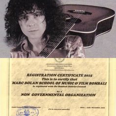 We are proud to be able to give you the #news that The Marc Bolan School of Music has now received Official recognition from the #sierraleone government and is serving 13 areas within Bombali District including #Makeni #Tanx for all your #support http://ift.tt/1BN6I1o #marcbolan #donate #glamrock #rocknroll #rock #GuitarsNotGuns #ChanceToDance #gloriajones