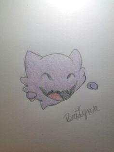 Tiny Haunter drawing ~BriLynn
