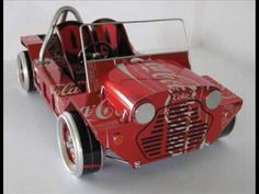 ▶ Scale Modeling in Metal 1/10 scale Midget Racer & The Coke Moke - YouTube