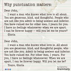 punctuation is everything