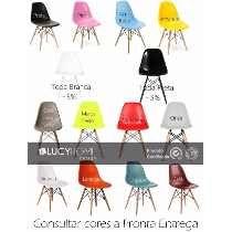 Cadeira Charles Eames New Wood Design Dsw Em Pp