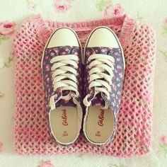 I want those Cath Kidson converse!!!!