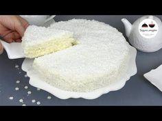 """Лучший новогодний торт """"Снежинка"""" - нежный как пух - Простые рецепты Овкусе.ру"""