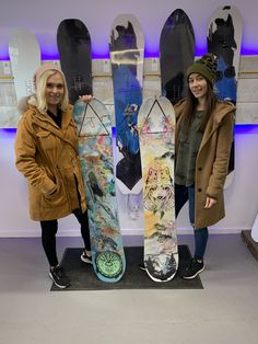 We made these two custom boards for Eliza Taylor and Nina Defilla. the boards turned out amazing.