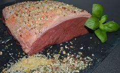 Lækker culotte fra John Stone Beef, krydret med bornholmerblandingen og chilisalt fra Puks delikatesser, klar til at komme på grillen.
