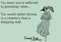 hooked on geneology