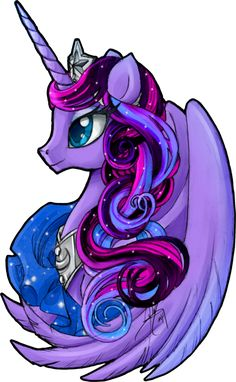 Luna Nouveau by LadyAmaltea Based on my Princess Luna toy. My Little Pony Tattoo, Dessin My Little Pony, My Little Pony Drawing, Mlp My Little Pony, My Little Pony Friendship, Unicorn Art, Cute Unicorn, Animal Drawings, Cute Drawings