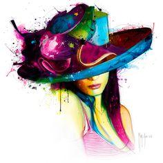 La jeune fille au chapeau - Patrice Murciano - IG 8308
