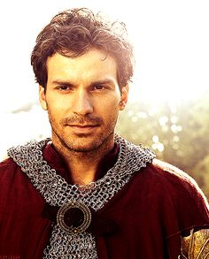 Lancelot played by Santiago Cabera. Can we all agree he is the definition of perfection?