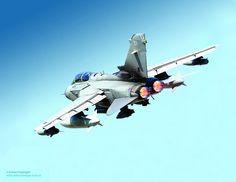 RAF Tornado GR4 Aircraft by Defence Images, via Flickr