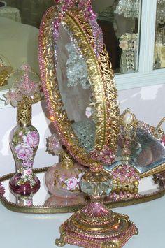 Bejeweled Vanity Treasures !!!