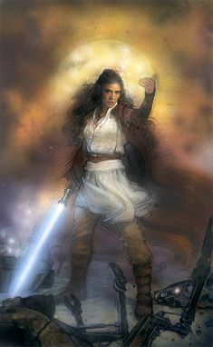 Leia as a Jedi
