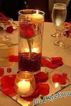 Wedding Romantic bed room designs