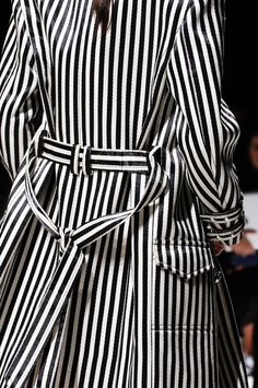 Balmain Spring 2013 rtw- im so beyond obsessed with b/w so i will be following this trend!