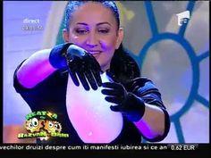 Claudia Stroe a făcut un spectacol fabulos din baloane de săpun