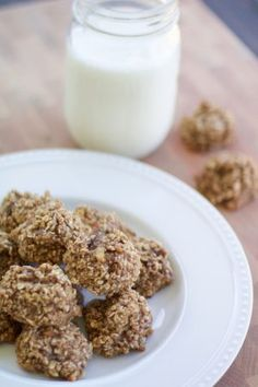 The easiest 3-Ingredient Breakfast Cookies made with simple real food ingredients.