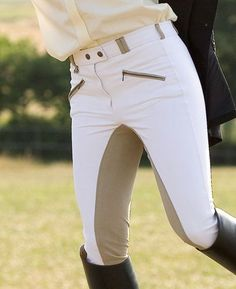 Everything Equestrian - Isabelle white riding jodhpur breeches Horse Riding Clothes, Riding Pants, Riding Gear, Equestrian Outfits, Equestrian Style, Horseback Riding Outfits, English Clothes, Riding Breeches, Horse Fashion