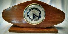 Vintage Lanshire Clock Self Starting Atomic Look in Collectibles, Clocks, Vintage (1930-69) | eBay