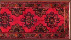 Persian Style Wool Runner : Lot 128-5012 #persian #wool #runner #rug