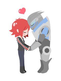 Mass Effect - Shakarian Art Print